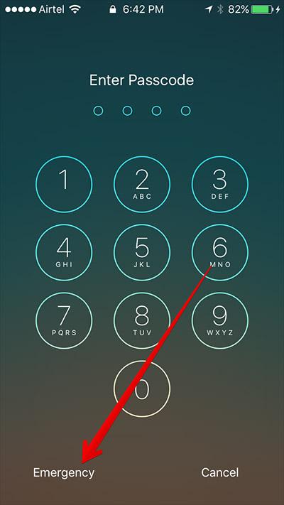tap-on-emergency-in-lock-screen-iphone